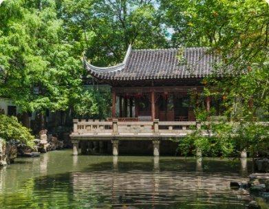 Songjiang Garden & Temple Tour